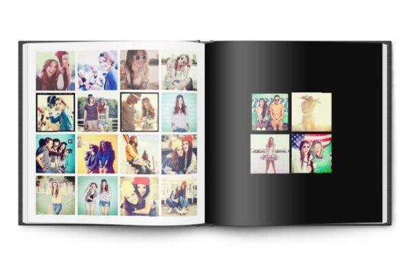Τετράγωνο photobook 15x15cm