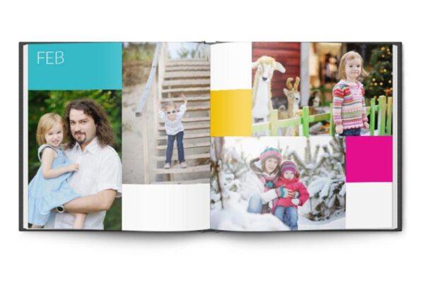 Τετράγωνο photobook 21x21cm