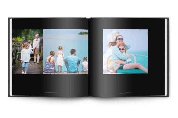 1 Τετράγωνο ψηφιακό άλμπουμ 35x35cm + 3 μικρά 20x20cm