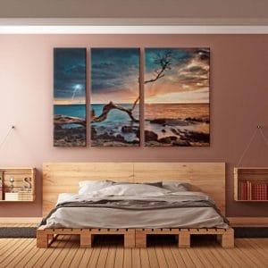 Εκτύπωση φωτογραφίας σε πολύπτυχο καμβά από το Print-Photos-Online.com