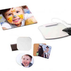 Εκτύπωση φωτογραφίας σε mousepad, σουπλά & σουβέρ