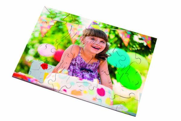 """Ξύλινο puzzle """"HAPPY BIRTHDAY"""" (45 κομμάτια)"""
