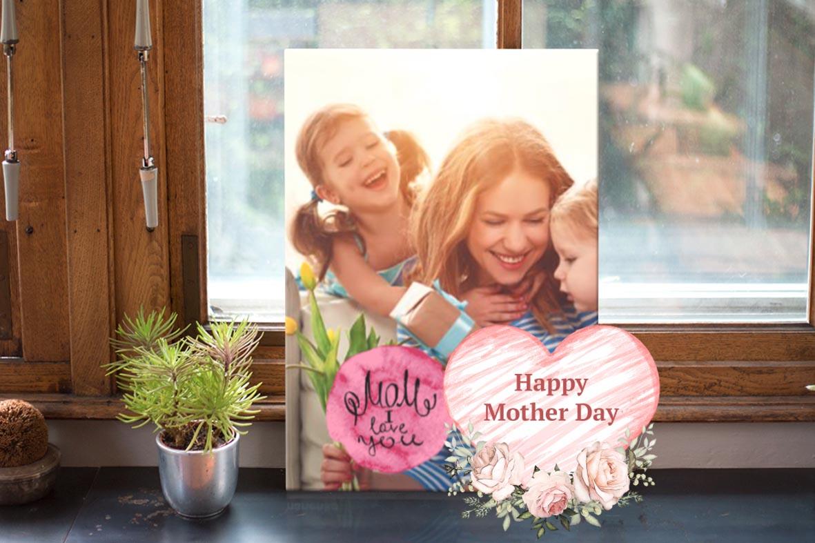 Μοναδικά δώρα για την γιορτή της μητέρας από το Print-Photos-Online.com