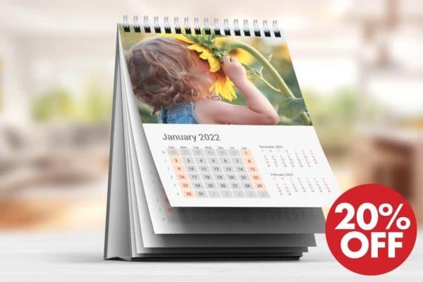 Εκτύπωση σε ημερολόγιο με φωτογραφίες από το Print-Photos-Online.com
