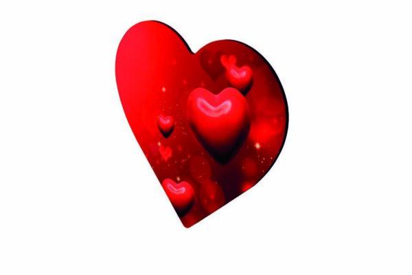 Εκτύπωση φωτογραφίας σε μαγνητάκι καρδιά