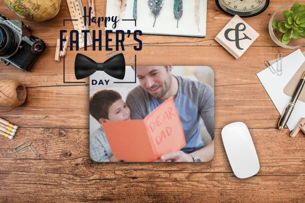 Εκτύπωση σε mousepad fathers day