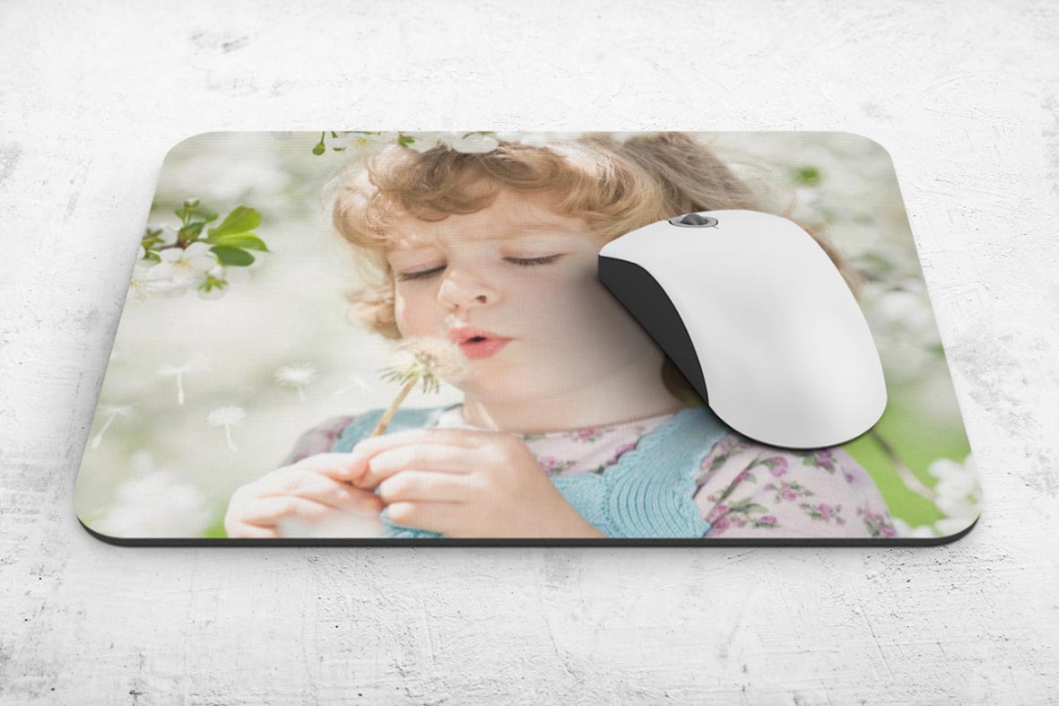 Εκτύπωση φωτογραφίας σε mousepad από το Print-Photos-Online.com