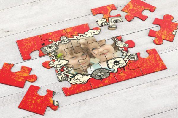Εκτύπωση φωτογραφίας σε puzzle Α4 με 35 κομμάτια - ιδανικό για παιδιά