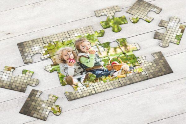 Εκτύπωση φωτογραφίας σε ξύλινο puzzle 17,5x25cm (30 κομμάτια - ιδανικό για παιδιά)