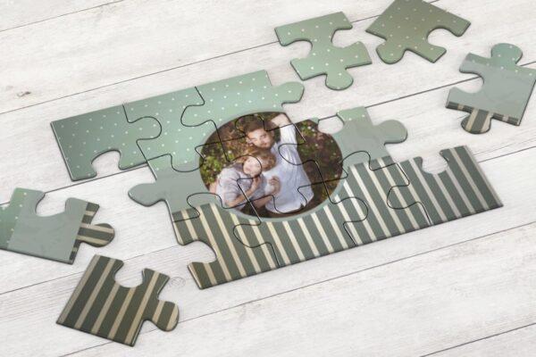 Εκτύπωση φωτογραφίας σε ξύλινο puzzle 17,5x25cm (60 κομμάτια)