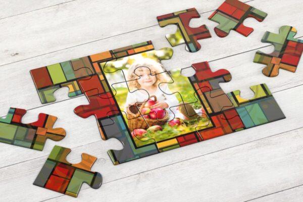 Εκτύπωση φωτογραφίας σε ξύλινο puzzle 17,5x25cm (96 κομμάτια)