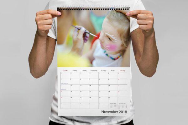 Ημερολόγιο τοίχου 30x45cm