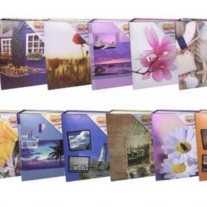 Άλμπουμ φωτογραφιών με 100 θήκες 10x15cm