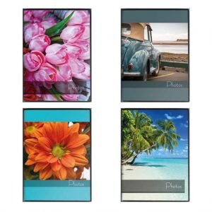 Άλμπουμ φωτογραφιών με θήκες 10x15cm