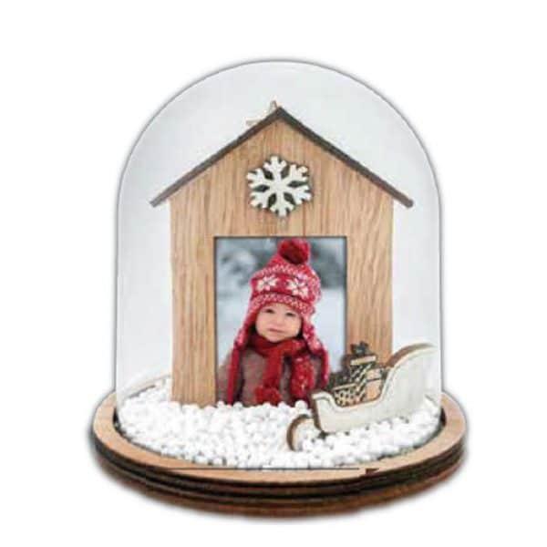 χριστουγεννιάτικη γυάλινη μπάλα Laufey