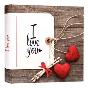 Άλμπουμ φωτογραφιών με ριζόχαρτο (κωδικός Valentine A)