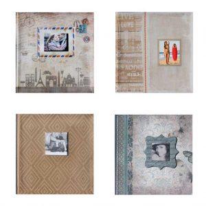 Άλμπουμ φωτογραφιών με 200 θήκες φωτογραφιών 10x15cm (κωδικός 11160)