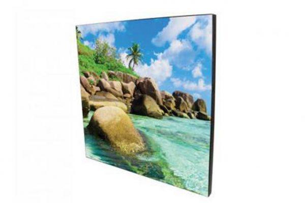 Εκτύπωση φωτογραφίας σε κρεμαστό κάδρο 15x15cm