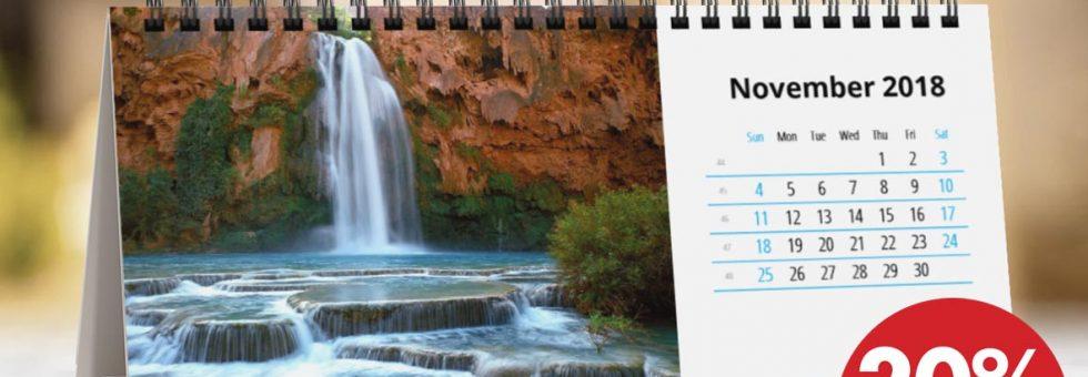 Προσφορά σε όλα τα ημερολόγια!!!