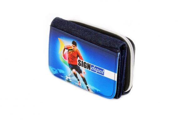 Εκτύπωση φωτογραφίας σε υφασμάτινο πορτοφόλι
