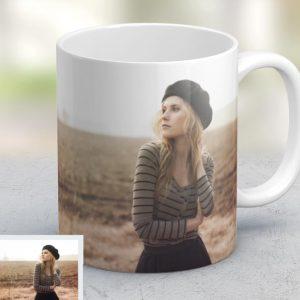 Εκτύπωση φωτογραφίας σε κούπα για την γιορτή της γυναίκας