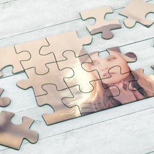 Εκτύπωση φωτογραφίας σε puzzle για την γιορτή της γυναίκας