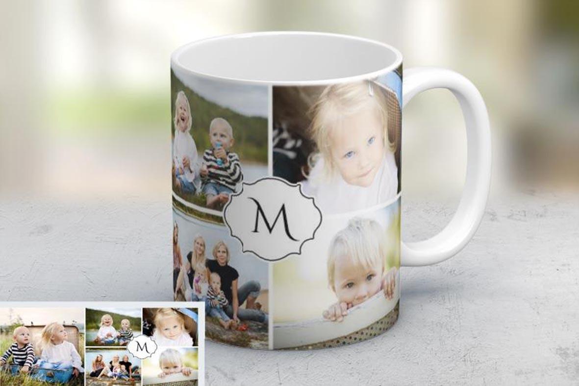 Εκτύπωση φωτογραφίας σε κούπα Family Emblem από το Print-Photos-Online.com