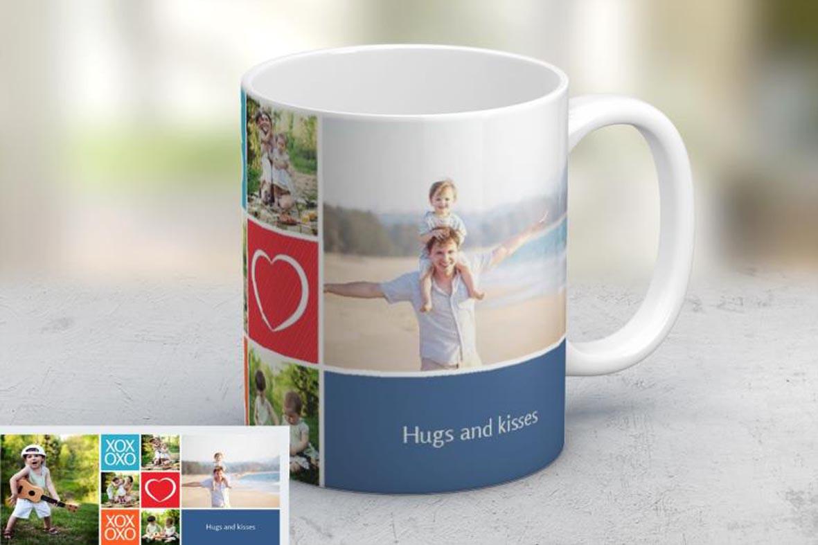 Εκτύπωση φωτογραφίας σε κούπα For Dad από το Print-Photos-Online.com