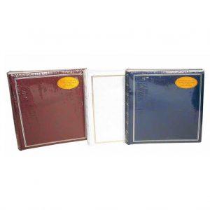 Άλμπουμ φωτογραφιών 30x30cm με 50 λευκά φύλλα & ριζόχαρτο (κωδικός 12141) από το Print-Photos-Online.com