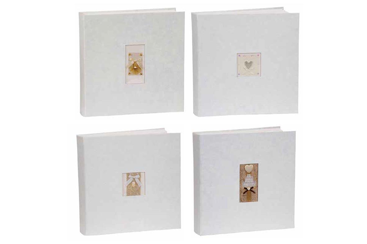 Άλμπουμ φωτογραφιών με craft εξώφυλλο & ριζόχαρτο (κωδικός 12601) από το Print-Photos-Online.com