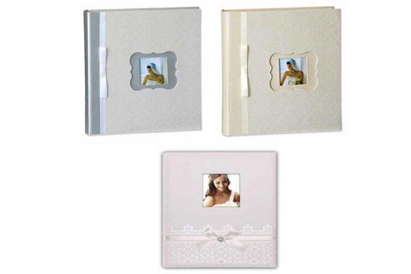 Άλμπουμ φωτογραφιών 30x30cm με 50 φύλλα & ριζόχαρτο (κωδικός 12655) από το Print-Photos-Online.com