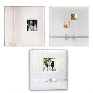 Άλμπουμ φωτογραφιών 30x30cm με 50 φύλλα & ριζόχαρτο (κωδικός 12665) από το Print-Photos-Online.com