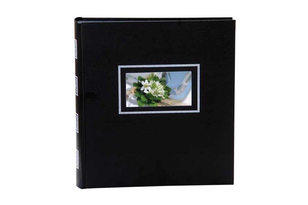 Άλμπουμ φωτογραφιών 30x30cm με 50 λευκά φύλλα & ριζόχαρτο (κωδικός 17050)