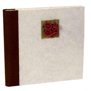 Άλμπουμ φωτογραφιών με craft εξώφυλλο & ριζόχαρτο (κωδικός 12346 - brown)
