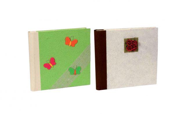 Άλμπουμ φωτογραφιών με craft εξώφυλλο & ριζόχαρτο (κωδικός 12346)