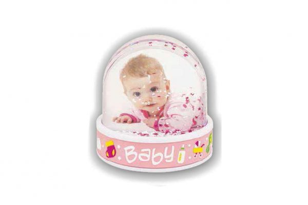 Snowglob Baby Girl