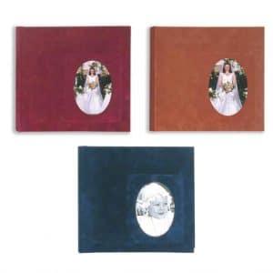 Άλμπουμ φωτογραφιών 31x34cm με 50 φύλλα, ριζόχαρτο & βελούδινο εξώφυλλο (κωδικός 12020) από το Print-Photos-Online.com