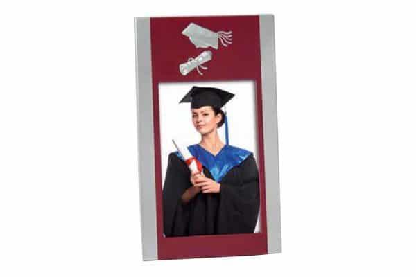 Μεταλλική κορνίζα 10x15cm Graduation από το Print-Photos-Online.com