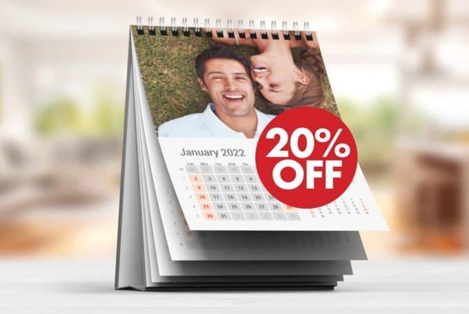 Ημερολόγια 2022 με έκπτωση 20%!