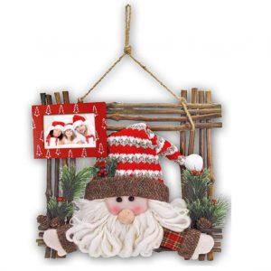 Ξύλινη χριστουγεννιάτικη κορνίζα Gotland από το Print-Photos-Online.com